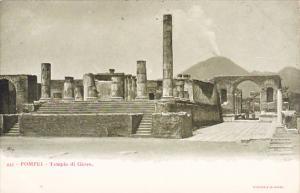 Italy Pompei Tempio di Giove