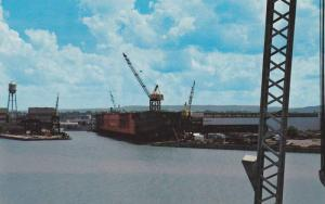 Ship Yard , COLLINGWOOD , Ontario, Canada , 50-60s