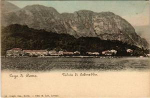 CPA Lago di como Veduta di Cadenabbia ITALY (802291)