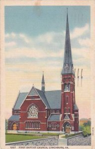 Virginia Lynchburg First Baptist Church 1942
