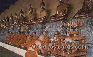 Gallery of Buddha Statues Bangkok Thailand Unused