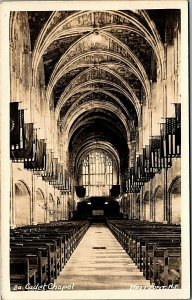 Cadet Chapel West Point RPPC Real Photo c1920's Postcard NY  MrSTUFF B2/75