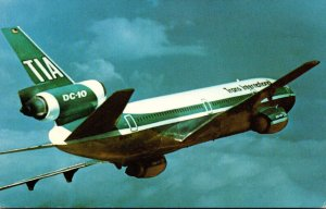 Airplanes Trans International Airlines McDonnell Douglas DC-10