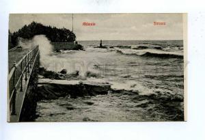 192771 Croatia Opatija ABBAZIA Sirocco Vintage postcard