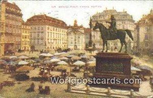 Market Place Vienna Austria 1912