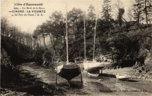 CPA Le Bords de la Rance - DINARD - La Vicomté - Le Port du Pissot (298296)