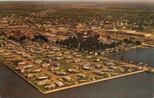 8208  FL Punta Gorda   Aerial View Municipal Trailer Park
