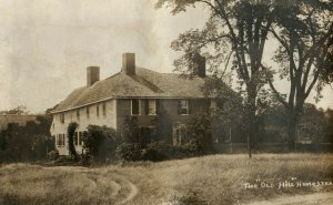 C. 1910 RPPC  Old Hill Homestead, Duxbury, Ma. Postcards P177