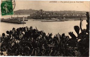 CPA ANTIBES  .- Vue generale prise du    (191452)