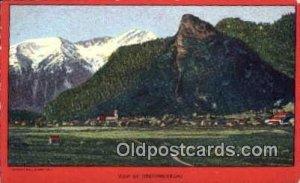 religion postcard postcards oberammergau Unused