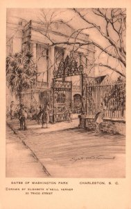 Gates of Washington Park,Charleston,SC BIN