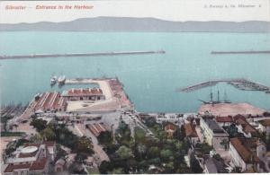 Entrance To The Harbour, GIBRALTAR, 1900-1910s
