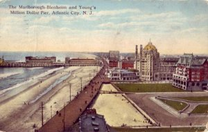 THE MARLBOROUGH-BLENHEIM AND YOUNG'S MILLION DOLLAR PIER ATLANTIC CITY, NJ 1917