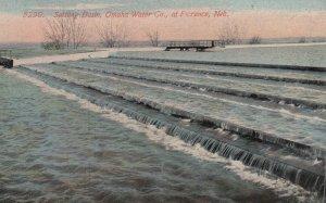 FLORENCE , Nebraska , 00-10s ; Settling Basin , Omaha Water Company