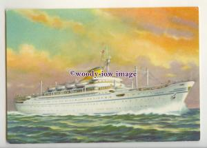 LN1665 - Lloyd Trestino Liner - Africa - postcard company issued