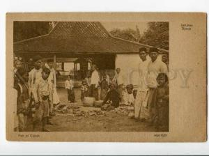 271028 INDONESIA HOLLAND INDIA Djocja Fair Vintage postcard
