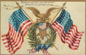 Flags , 1908 ; TUCK 107 ; Decoration Day