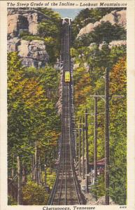 Steep Grade Of The Incline Lookout Mountain Chattanooga Tennessee