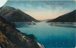 Montenegro Perasto postcard
