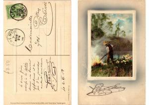 CPA In der Freien Natur Meissner & Buch Litho Serie 1526 (730590)
