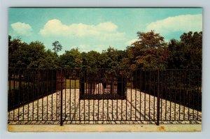 Fort Wayne IN- Indiana, John Chapman's Grave, Appleseed Park, Chrome Postcard