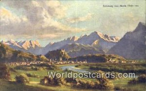 Salzburg von Maria Plain aus Salzburg Austria Unused