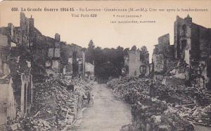 GERBEVILLER (M.-et-M.) , France.1914-18
