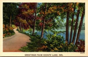 Indiana Greetings From Koontz Lake