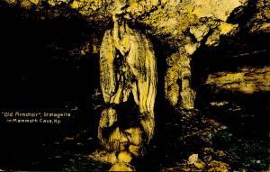 KY - Mammoth Cave. Old Armchair. *RPO- Cincinnati & Nashville Railroad
