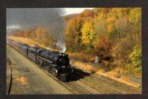 NY Chesapeake Ohio Railroad Train PORT JERVIS NEW YORK