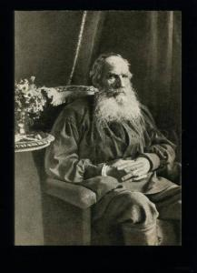 136205 Leo TOLSTOY Great Russian WRITER by Wife Old PC