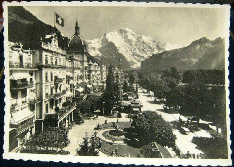 Switzerland Interlaken - unposted