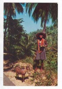 Beads vendor, Jamaica, W.I., PU-1962