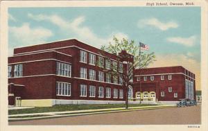 Michigan Owosso High School Curteich