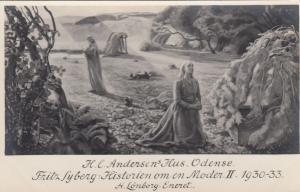 RP: H. C. Andersen's Hus, Odense, Fritz Syberg: Historien om en Moder II 1930-33