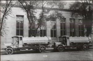 Pure Oil Truck c1920 Image KODAK Real Photo Postcard c1950s-70s #2