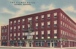 COLUMBUS , Mississippi , 1930-40s ; The Gilmer Hotel