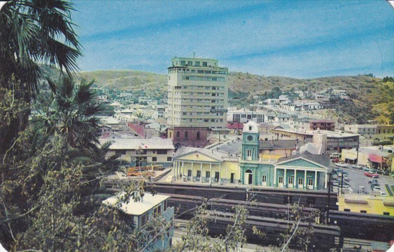 View at the Fray Marcos of Niza , NOGALES , Son. , Mexico , 50-60s