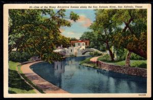 Scene,San Antonio River,San Antonio,TX BIN