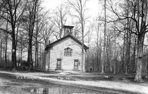 Gouldsboro MD M. E. Church Re-Manufactured Real Photo Postcard