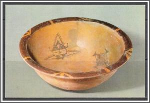 China Relics Painted Basin Neolithic Age