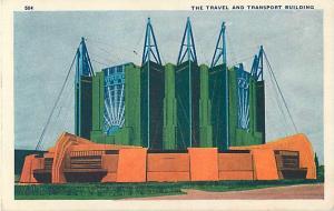 Travel & Transport Building Century of Progress Chicago IL