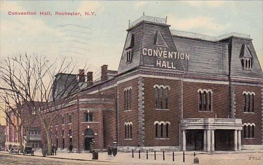 New York Rochester Convention Hall 1912