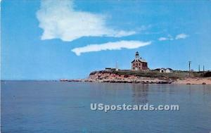 Plum Island Lighthouse Long Island NY Unused