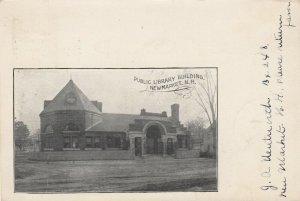 NEW MARKET , New Hampshire , 1905 ; Public Library Building