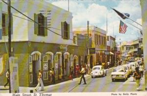 St Thomas Main Street Of Charlotte Amalie