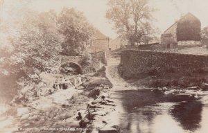 RP: BUXTON , England , UK, 1900-10s ; Coyt Bridge & Stepping Stones