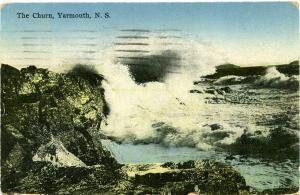 The Churn, Yarmouth NS, Nova Scotia, Canada pm 1929