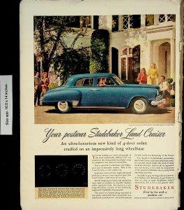 1947 Studebacker Land Cruiser Automobile Vintage Print Ad 4543