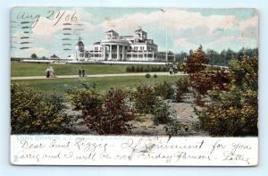 Postcard NJ Long Branch Residence of John McCall 1906 View R59
